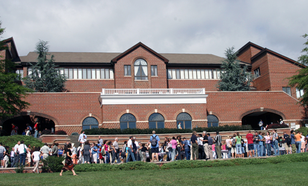 convocation, campus center