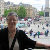 Dorcas in Trafalgar Sq