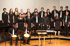 EMU Chamber Singers vocal ensemble