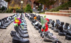 Veterans Day remembrance at EMU