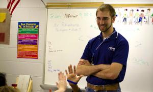EMU education graduate Steven Rittenhouse