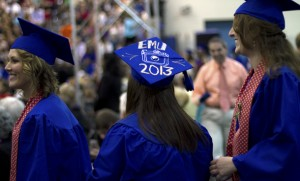 EMU graduation 2013. (Photo by Lindsey Kolb)