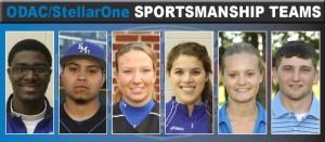 From left: Michael Allen, Jonathan Estrada, Brooke Hensley, Lanae Krieder, Brittany McDonaldson and Andre Swartzentruber.
