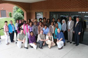 Group of participants, faculty and staff at EMU's 2013 Summer