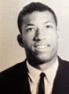 Grandison Hill in the 1963 EMC yearbook.