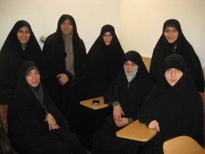 Iranian seminary students