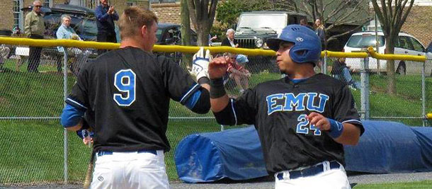 EMU baseball student-athletes