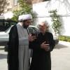Shomali with Shomali with Amernian Orthodox Archbishop Sebouh Sarkissian in Tehran