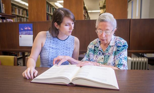 Eastern Mennonite Menno Simons Historical Library >> EMU historical library sees leadership transition – Simone Horst succeeds Lois Bowman - EMU News