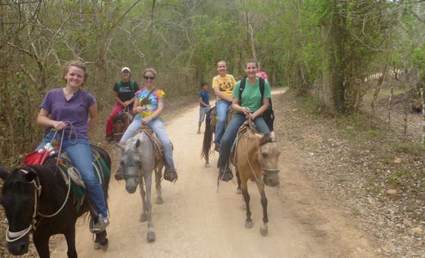 Horseback riding - Honduras cross-cultural