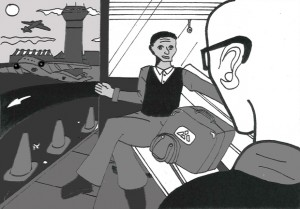 Illustration by Neil Hammond, Chereè's son