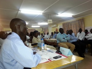 South Sudan USAID training (group)