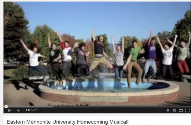 Emily Shenk helped to celebrate Homecoming and Family Weekend 2014 with this video about EMU.