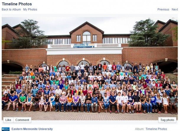 EMU welcomed its most diverse class in the fall of 2014.