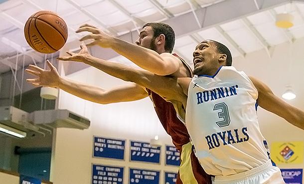 Eastern Mennonite University Men's Basketball Team Plays Shenandoah University