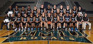 2014-15 EMU Men's Basketball Team