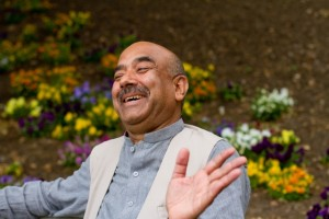 Ali Gohar laughing, at EMU June 2012(1)