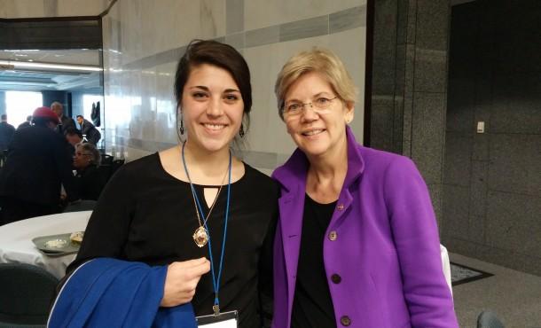 Sara Ritchie, Elizabeth Warren