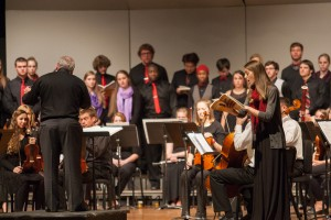Eastern Mennonite University's annual music gala showcases the many students