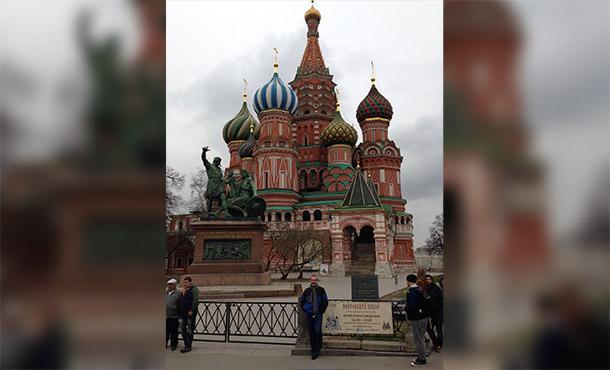Carl in Russia NEWSFEATURE