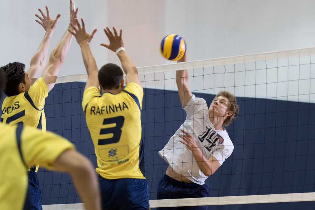 Taylor helps national men's volleyball team qualify for ...
