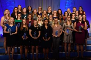 16 OCT 2016: The 2016 Woman of the Year takes place at the Westin in Indianapolis, IN. Justin Tafoya/NCAA Photos