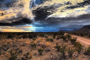 Sunset over Glen Springs, Big Bend National Park. (Photo by Russell James Pyle)
