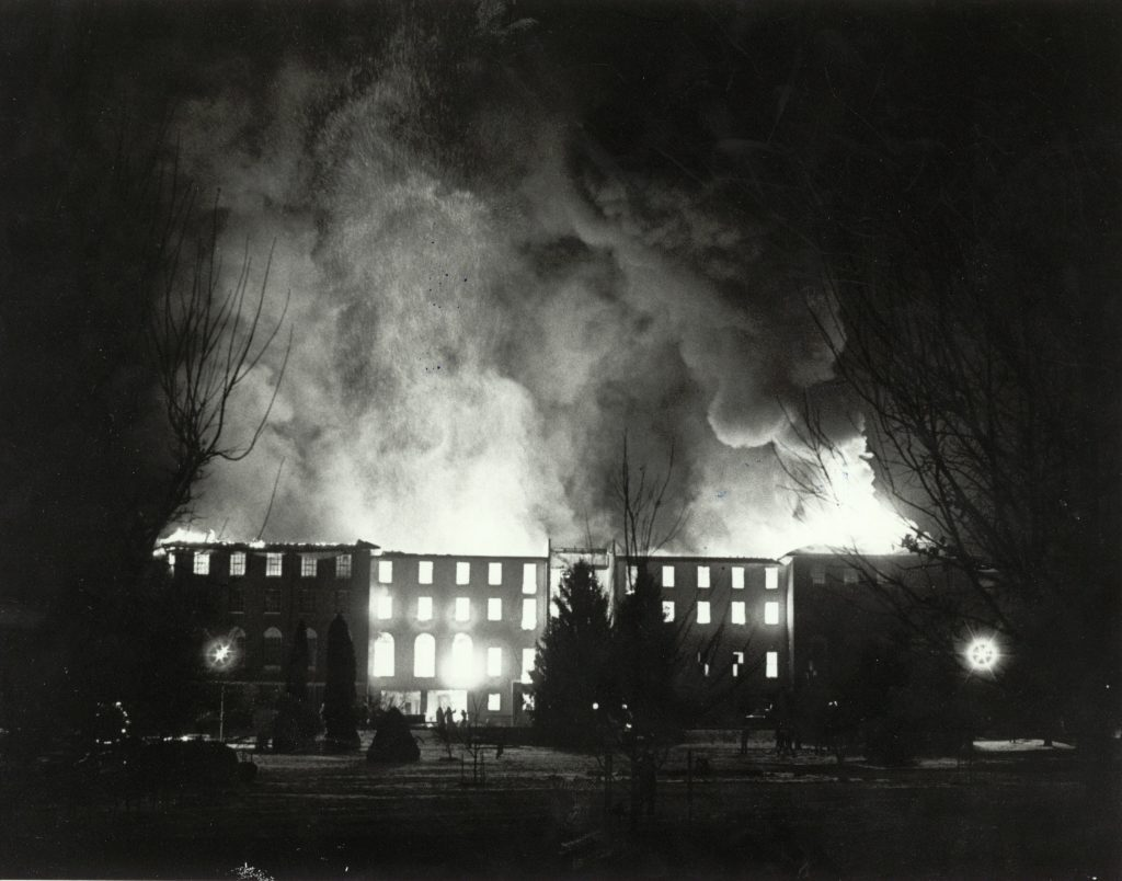 Remembering The Ad Building Fire 1 16 1984 Emu News