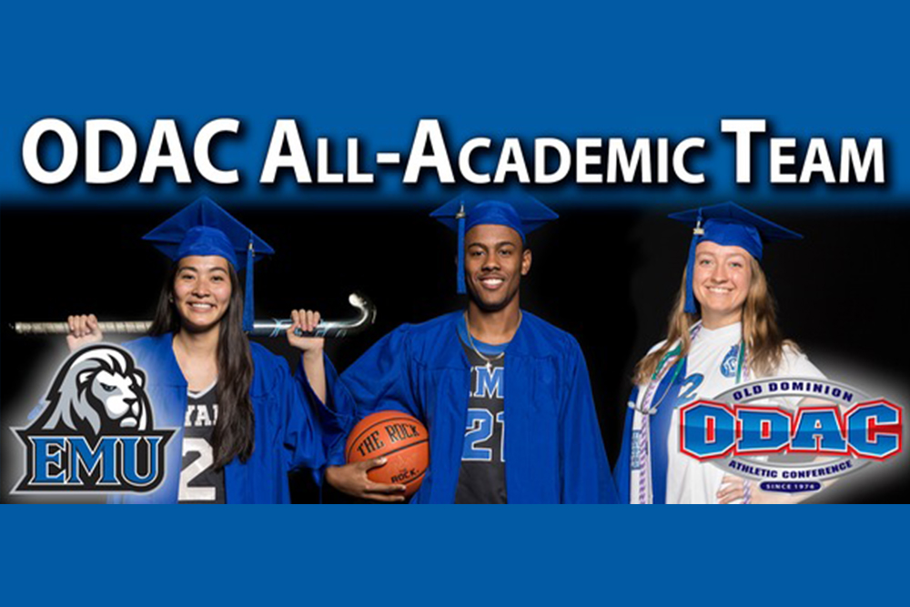 EMU breaks record for ODAC All-Academic Team honorees