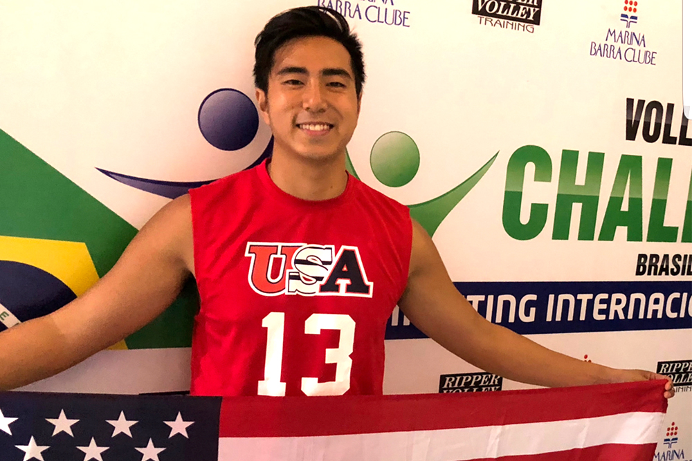 EMU's Ocampo plays on national team in Brazil