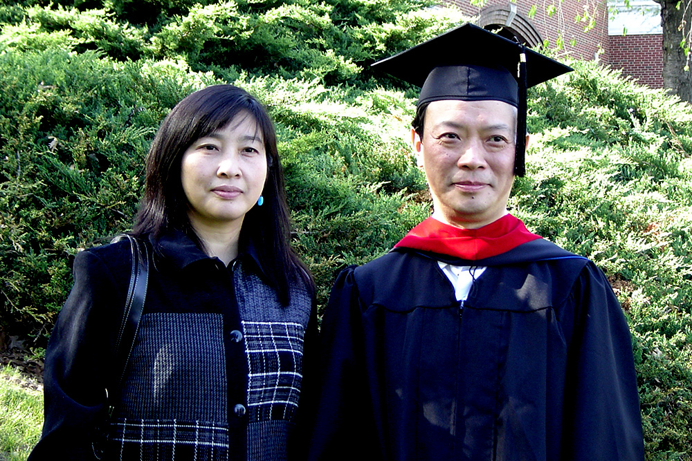 Wu Wei, with his wife Wu Jinzhen in 2006, was named president of the China Christian Council in November 2018. He earned a Master of Divinity degree from Eastern Mennonite Seminary.