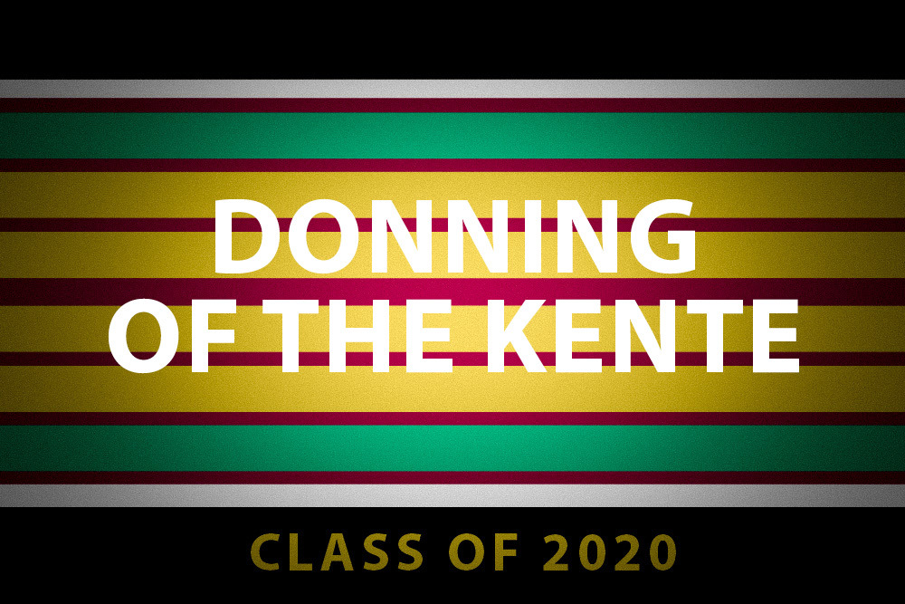 Donning of the Kente graphic