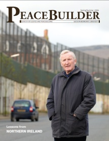 Peacebuilder Magazine cover, Spring/Summer 2009