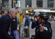 Negotiating at Occupy Chicago; (Photo by Michael Kappel via Flickr)