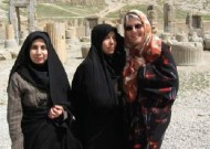 Pat Hostetter Martin in Iran