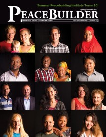 Peacebuilder spring-summer 2014, cover