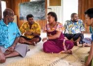 Pacific Centre for Peacebuilding (PCP) staffers