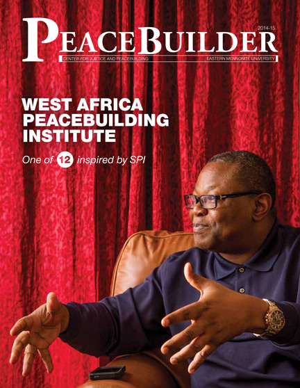 Peacebuilder 2014-15 cover