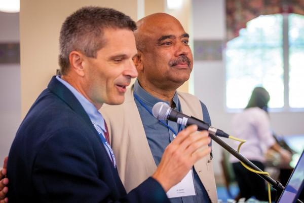 J. Daryl Byler and Ali Gohar