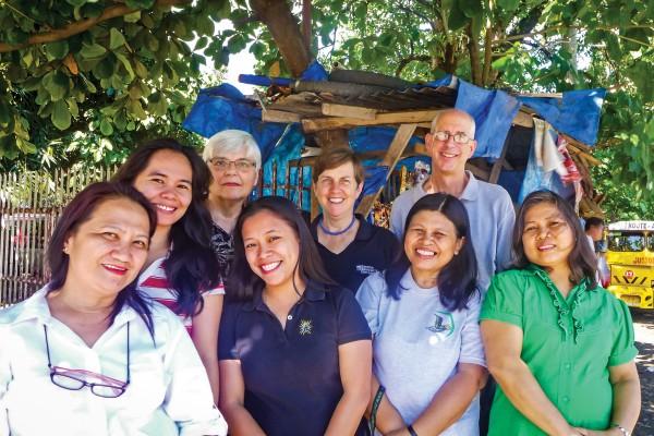 Mindanao Peacebuilding Institute (MPI) staffers