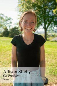 Allison Shelly, Co-President, Junior