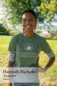 Hannah Nichols, Treasurer, Senator