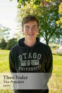 Theo Yoder, Vice President, Junior