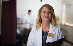 Melody Cash, doctor of nursing practice director
