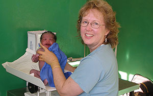 Nadene Brunk nursing in haiti, cross-cultural nursing