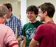 EMU student James Souder at Summer Peacebuilding Institute