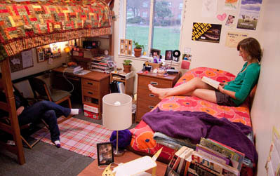 cedarwood dorm room